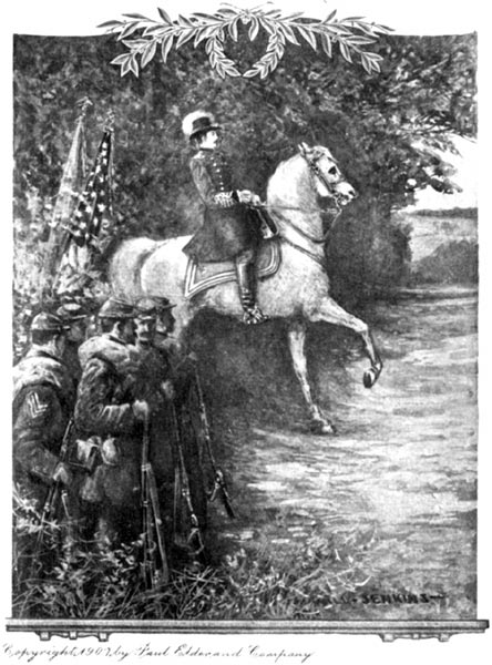 Painting of Soldier on Horse