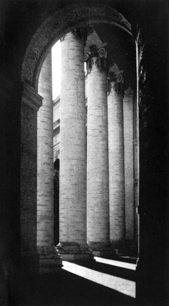 Court of the Four Seasons - The Ionic Columns