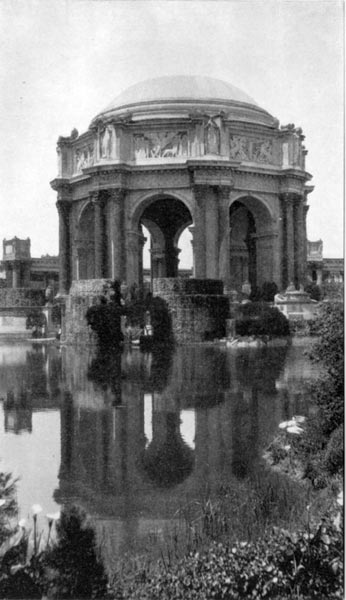 Palace of Fine Arts - The Rotunda and Laguna