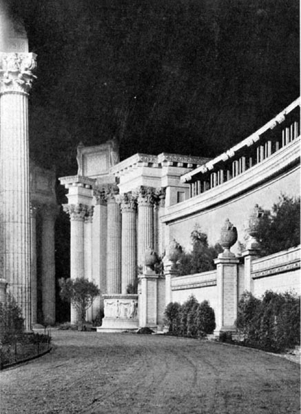 The Peristyle at Night