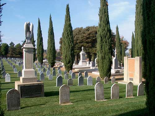 Nun's Section - St. Dominics Cemetery - Benicia - view 3
