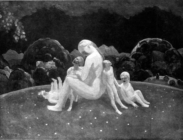 A Mother and Her Sons. By Rockwell Kent