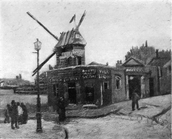 Moulin de La Galette. By Vincent Van Gogh.