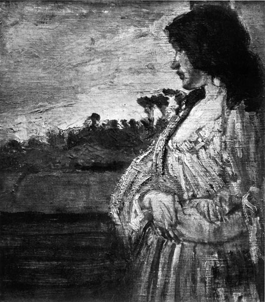 Note Blanche: Study of Jo. By James McNeill Whistler