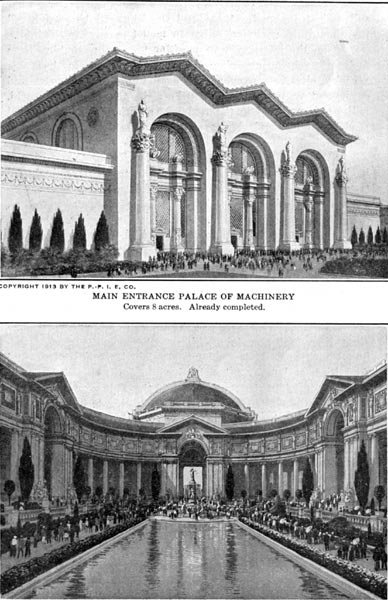Palace of Machinery & Court of Palms