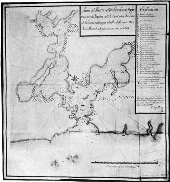 First Survey and Map of the Bay of San Francisco