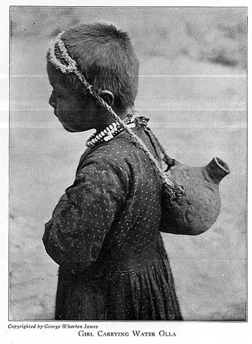 Girl Carrying Water Olla