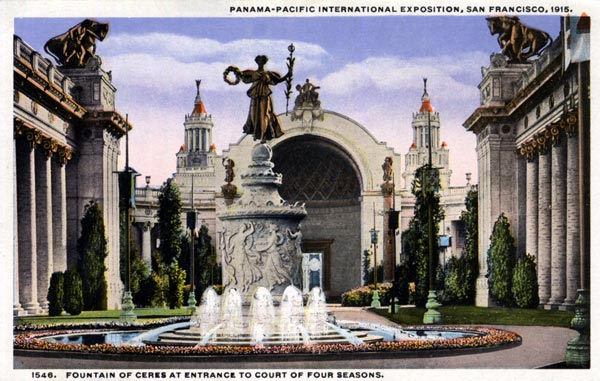 Fountain of Ceres - Front