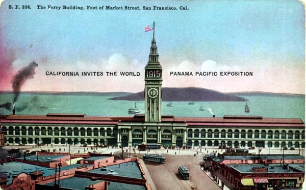 Ferry Building Post Card - Front