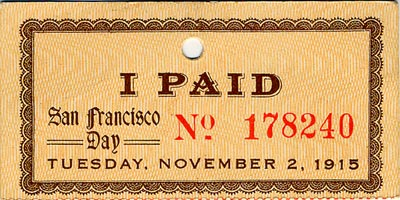 Ticket Receipt - Front