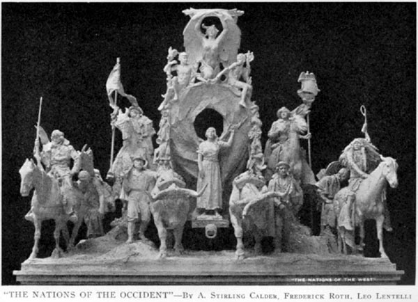 """The Nations of the Occident"" (by Calder, Roth and Lentelli)"