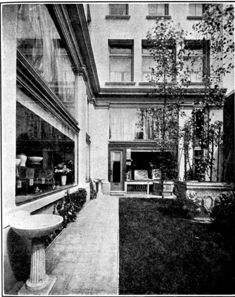 A Shop (Courtyard and Show-windows) (1913)