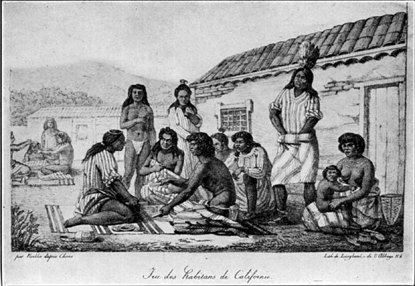 A Game of the Natives of California (1816)