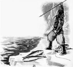 Eskimo Fishing