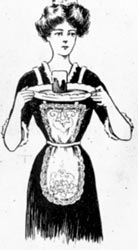 Woman with Platter