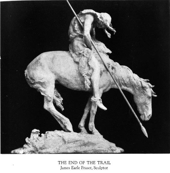 The End of the Trail - James Earle Fraser, Sculptor
