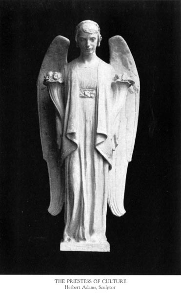 The Priestess of Culture - Herbert Adams, Sculptor