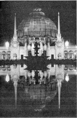 Night View of the Palace of Horticulture